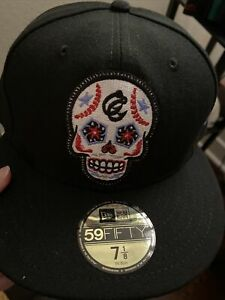 Corpus Christi Hooks Sugar Skull Houston Astros MiLB New Era 59Fifty 7 1/8 Hat
