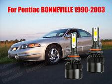 LED For BONNEVILLE 1990-2003 Headlight Kit 9006 HB4 White CREE Bulbs Low Beam