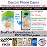 Custom Phone Case Cover Personalized Photo image logo gift fits Samsung s10