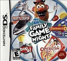 Hasbro Family Game Night Nintendo DS Complete = Game + Case + Booklet