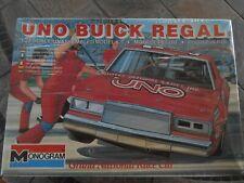 #1 Buddy Baker UNO 1983 Buick, MONOGRAM PLASTIC KIT 1/24. Factory sealed box.