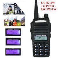 for BaoFeng UV-82 8w High Power 2Band Radio VHF/UHF Portable Transceiver Walkie