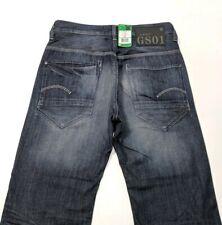 New G Star New Radar Low Loose Mens Jeans Indigo Blue Faded W31 L36 RRP £140