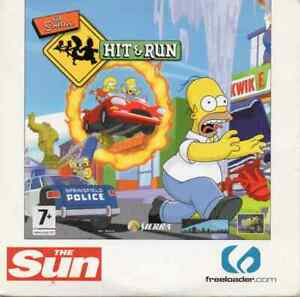 THE SIMPSONS HIT & RUN - SPECIAL EDITION PROMO PC CD-ROM (2003)