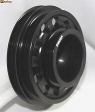 EMUSA Aluminum Performance Black Crank Pulley for 92-95 Civic SOHC D15D16