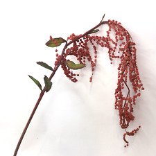 Artificial Amaranthus Spray Stem Artificial Flowers Artificial Leaves Silk