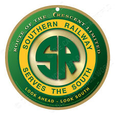 Southern Railway Logo Wood Plaque-Sign / Man Cave / Train & Kids Room