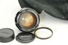 Nikon nippopn Kogaku Nikkor-S 55mm f/1.2 non-ai ha MF