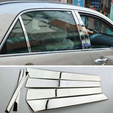 For Honda Accord 4DR 2003-2007 Stainless Chrome Door Pillar Posts Covers Trims