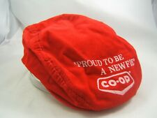 CO-OP Proud To Be A Newfie Flat Cap Vintage Red Snapback Hat