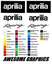Calcomanía de pegatinas gráficos Aprilia Rs 50 125 250 30 Color