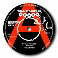 "THE FRANTIX - ""ROCKET RIDE BOP"" ROCKABILLY BOP OUT! LISTEN TO BOTH SIDES"