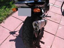 Kawasaki Z750 2004-06' Titanium Tri-oval twin out ROAD LEGAL MTC Exhaust
