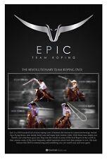 Epic Team Roping DVD Patrick Smith heeling Clay Tryan heading ustrc prca nfr