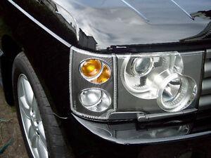 Land Rover OEM Range Rover 2003-2005 L322 EUROPEAN Front Corner Lamps Brand New