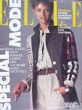 ▬►Elle 2488 de 1993 Sp Mode_ Heather Stewart-White_YSL_Tina Turner_Don Johnson
