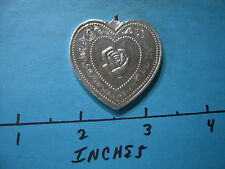 ROSE HEART SHAPE ESPECIALLY FOR YOU 999 SILVER 1 OUNCE COOL GIFT IDEA PIECE