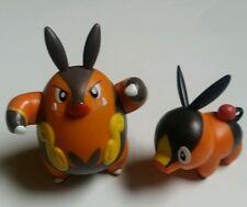 Pokemon Black White Tepig Pignite Action Figures Toy 20th Anniversary Lot of 2