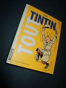 HERGE - TOUT TINTIN - L'INTEGRALE DES AVENTURES DE TINTIN - CASTERMAN / TTBE