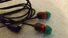 House Of Marley Smile Jamaica In-Ear auriculares con aislamiento de ruido-Rasta Verde