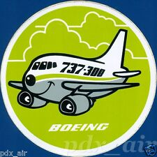 SMILE BOEING 737-300 TWINJET NARROW-BODY AIRLINER STICKER