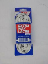 A&R Sports Extra Wax Molded-Tip Hockey Skate Laces