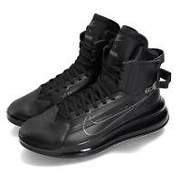 Nike Air Max 720 Saturn Black Grey Men Motorsport Shoes Sneakers AO2110-001