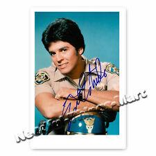 Erik Estrada alias  Ponch aus TV's Chips -  Autogrammfotokarte [AK1]