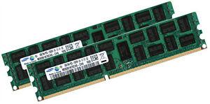 2x 16GB 32GB RAM kompatibel HP Part# A2Z52AA DDR3 ECC RAM 1600 Mhz Samsung