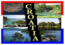 CROATIA - SOUVENIR NOVELTY FRIDGE MAGNET - BRAND NEW - GIFT / XMAS