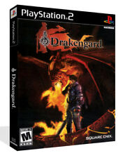 Drakengard PS2 Playstation 2 DVD Game Box Case + Cover Art Work (No Game)