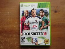 FIFA Soccer 12 (Microsoft Xbox 360, 2011) *COMPLETE*