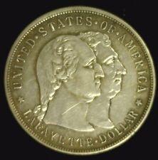 1900 LAFAYETTE SILVER COMMEMORATIVE DOLLAR AU CLEANED        (2007NAM)