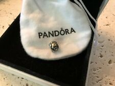 *WOW* NEW RETIRED & RARE GENUINE PANDORA 14K GOLD SILVER LETTER P CHARM 790298P