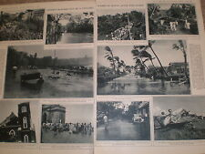 Photo article Bombay India hit by a cyclone 1948 ref Z2