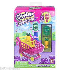 Shopkins Kinstructions Shopping Cart w Freezy Peasy & Wild Carrot Mini Pack