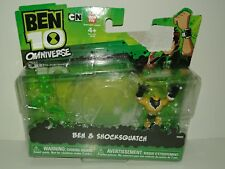2012 Bandai Cartoon Network Ben 10 Omniverse BEN & SHOCKSQUATCH Figures 32431