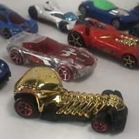 Lot of 10 Hot Wheels Match Box Cars Mix Set - All In Working Condition