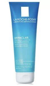 La Roche Posay Effaclar Deep Cleansing Foaming Cream 4.2oz, Exp 02-22023