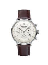 Junkers Armbanduhren aus Edelstahl mit Datumsanzeige