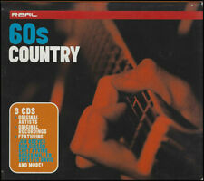Real 60's Country 3 CD Box Set BMG Feat Jim Reeves Don Gibson Chet Atkins More..
