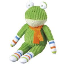 new  FRANKIE  mini  interactive  cbk midwest green plush  monkeez sock frog