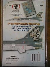 1/72 Eagle Strike F-16 WORLDWIDE: 50th anniversary 315 Lion Sqdn. Tail Art Decal