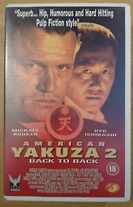 American Yakuza 2: Back to Back - Big Box Ex-rental VHS Video
