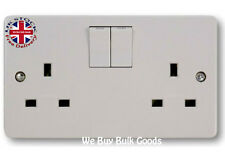 Crabtree 4306 Twin Switch Socket 13a 2 Gang