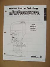 2004 Omc Johnson 25 Hp J25Tesra J25Telsra Outboard Motor Parts Catalog 5005675