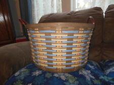 Longaberger Beautiful 2017 The Club Large Pocket of Gold Basket, Protector