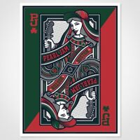 Pearl Jam Fenway Park 2016 Variant Mark 5 S/N ##/100 Poster Boston Not Thomas