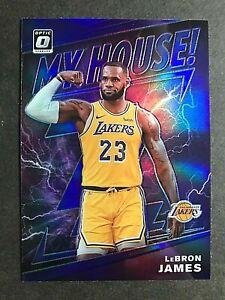 2019-20 Donruss Optic My House Purple #13 LeBron James