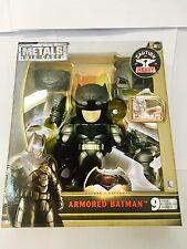 """Métaux DIE CAST BATMAN V Superman Armored Batman 6"""" Action Figure M11 15 cm Jada"""